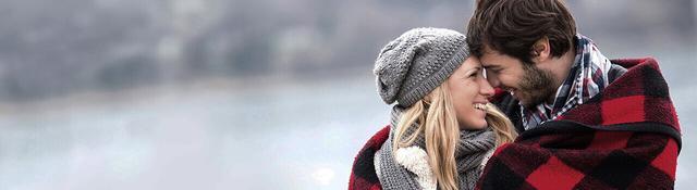 Pareja invierno